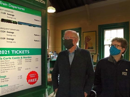 Swanage Railway's new innovative £223k system