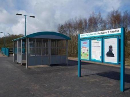 Pontypool & New Inn Railway Station Upgrade Costs Soar