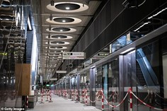 Crossrail stations will welcome first trains in three months'
