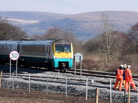 Rail Track Reopens More Than Six Months After 'Armageddon Like' Scenes