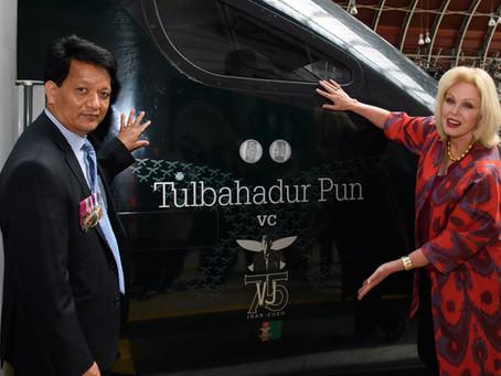 Great Western Railway names train in honour of Gurkha awarded the VC