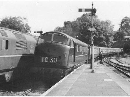 Reflections of a Trainspotter as Devizes Station could reopen