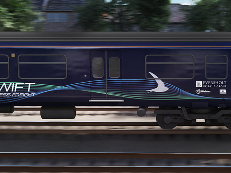 """""""Swift"""" Express Freight Train"""