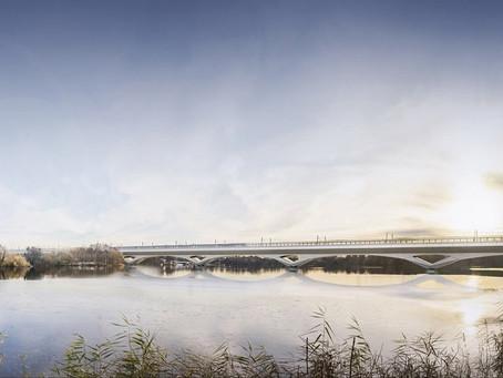 HS2 Begins Work on Longest Railway Bridge in UK