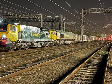 UK's Heaviest Freight Train