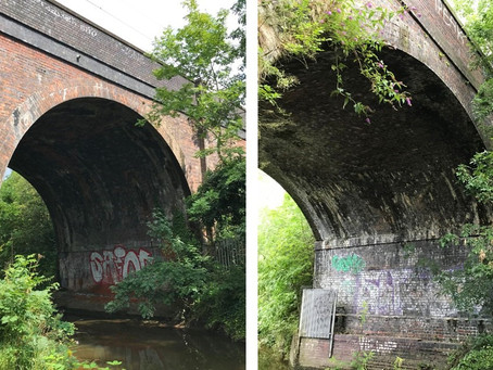 Birmingham brick Victorian viaducts get railway revamp