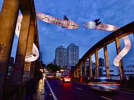Arte indígena contemporânea marca a cidade de Belo Horizonte