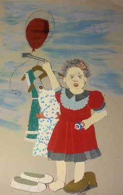 Girl with Baloon|2013