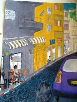 An anonymous Alley|סמטא אלמונית