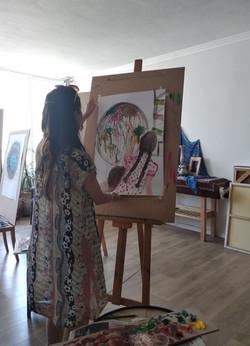 סדנת רישום וציור