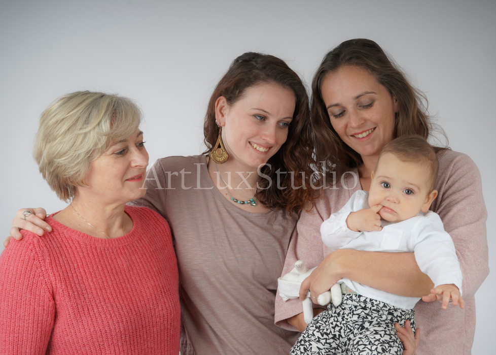 Photographe artistique Famille