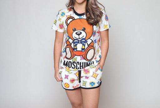 LV Bear 3D Fit Short PJ Set