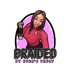 BraidedLogo_FancyPinkFontWithBackground.
