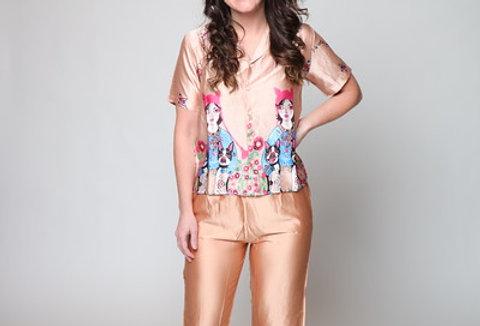 Glamour Girl PJ Set