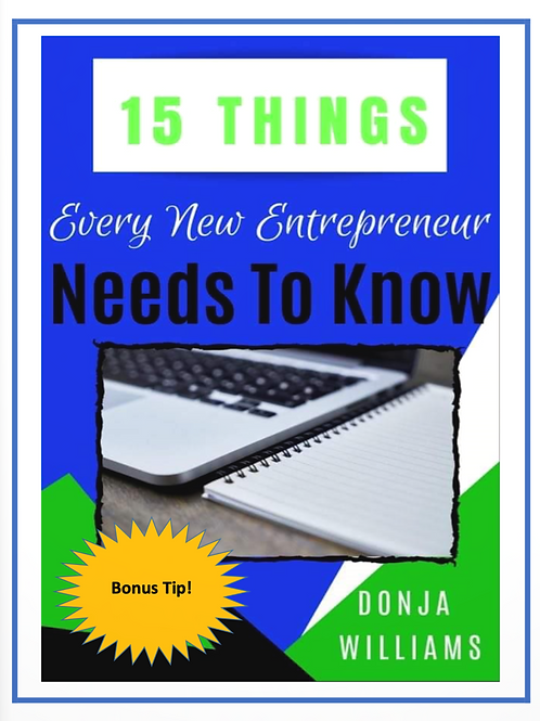 15 Things every new entrepreneur should know