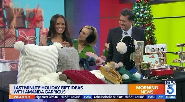 Amanda Garrigus KTLA Morning News Holida
