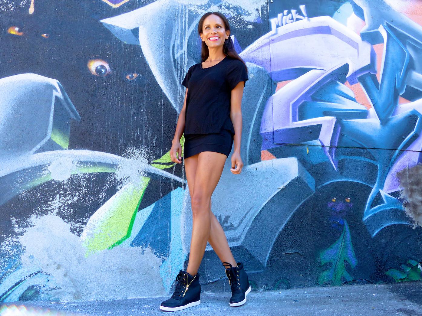 Amanda Garrigus JustFab Sneakers