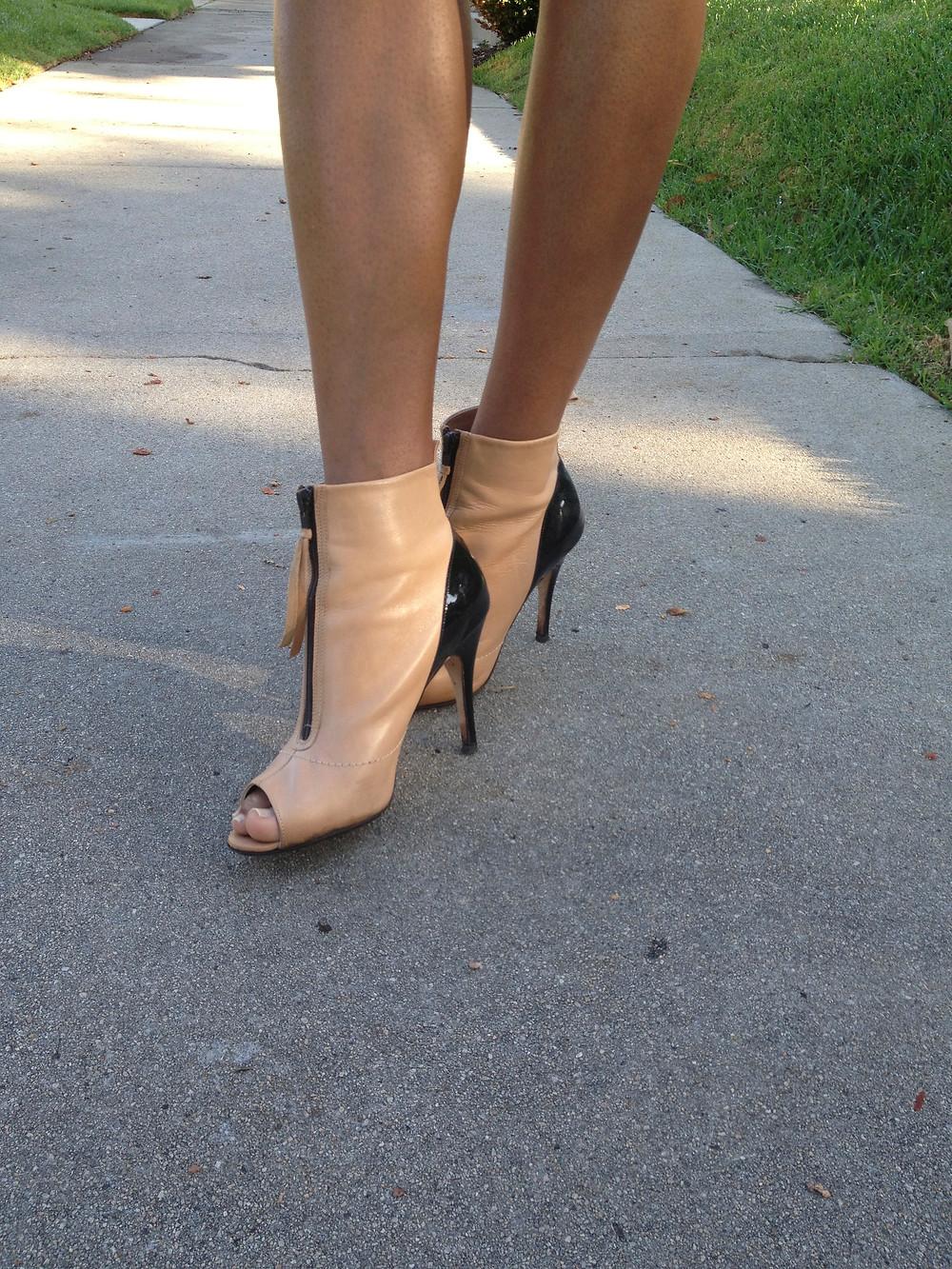 Amanda Luttrell Garrigus Jerome C. Rousseau shoes