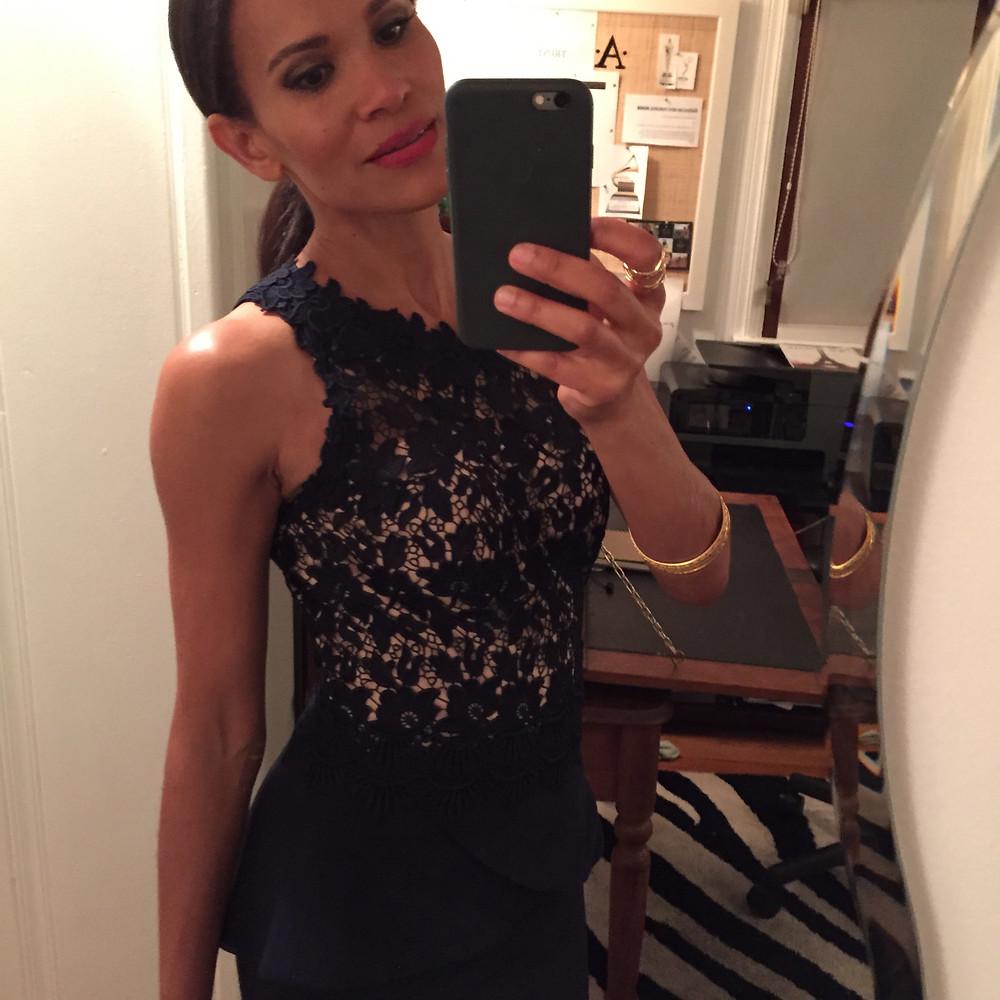 Amanda Luttrell Garrigus Oscars selfie.JPG