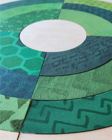 Barn Quilt Home Page Photo - Scrappy Bul