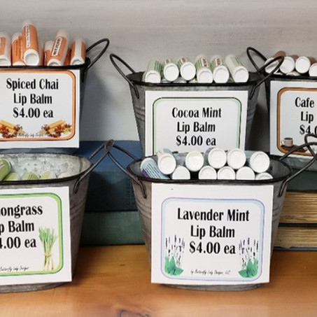 Getting Ready to Move, Lip Balms and Custom Orders - all in a day's work!