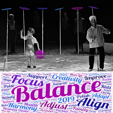 2019 Word of the Year - BALANCE