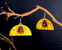 Half Circle Yellow Bees 15.jpg