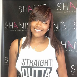SHG selfie corner #shanidoesmyhair