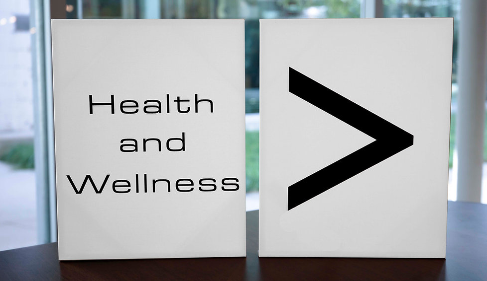 Health And Wellness Is Greater Than