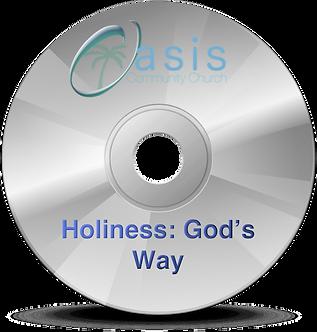 Holiness: God's Way