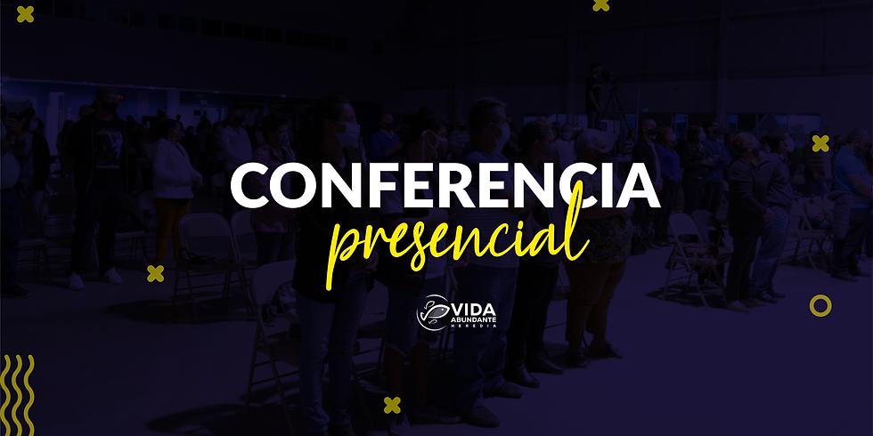Conferencia Presencial domingo 11:00am