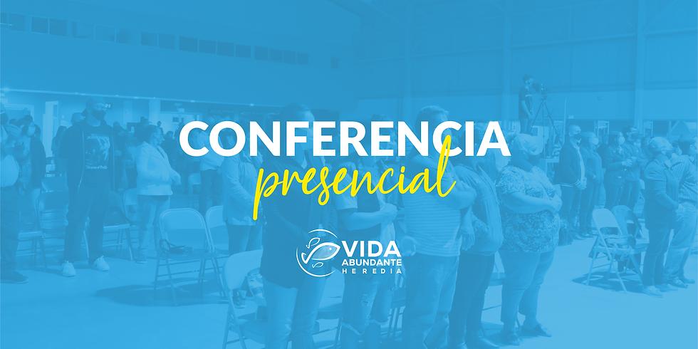 Conferencia Presencial domingo 9:00am