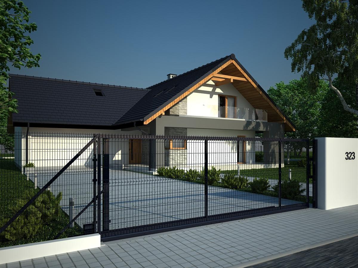 Projekt domu Kraków