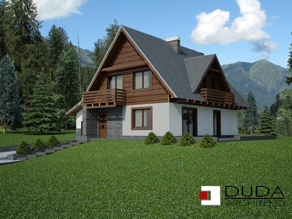 Projekt domu w Zakopanem