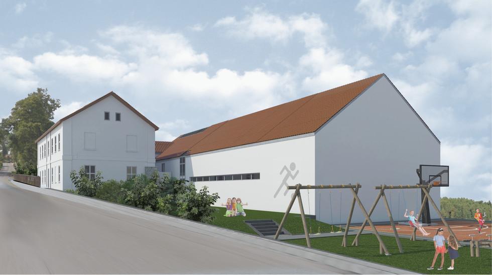 Projekt szkoły w Grojcu