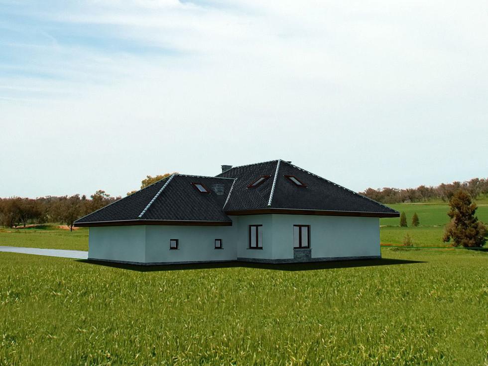 Projekt domu Chrzanów