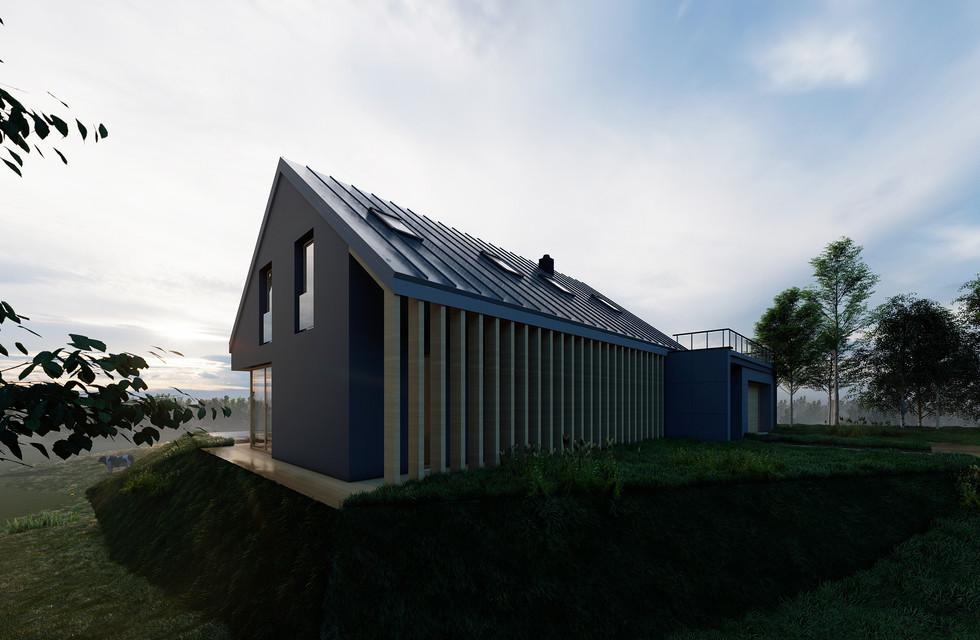 Projekt domu w Chorowicach