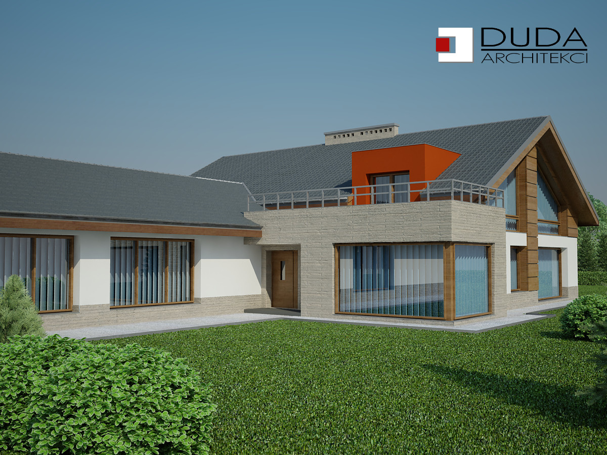 Projekt domu Katowice