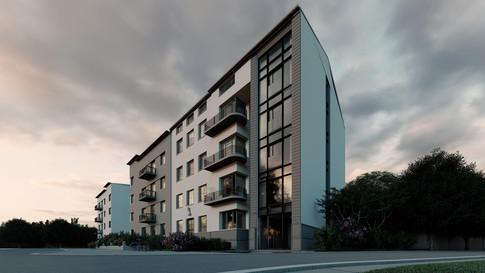 Budynek wielorodzinny w Krakowie