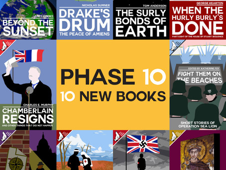 Ten New Titles: Phase 10 Release