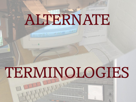 Alternate Terminology: Computers, Ordinators, or Ypologists?