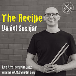 Daniel Susnjar The Recipe album cover.jp