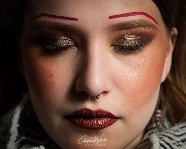 Hannah Portrait Makeup Model Beauty