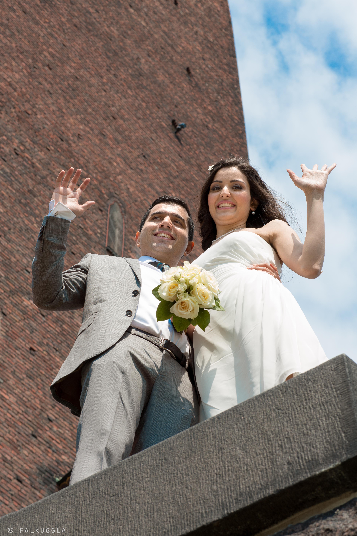 Bröllopsporträtt Stockholm