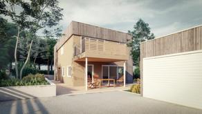Moderne enebolig på Hamar
