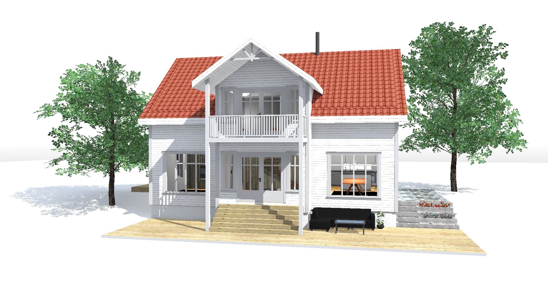 1 hus
