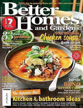 Better Homes & Gardens June 2017