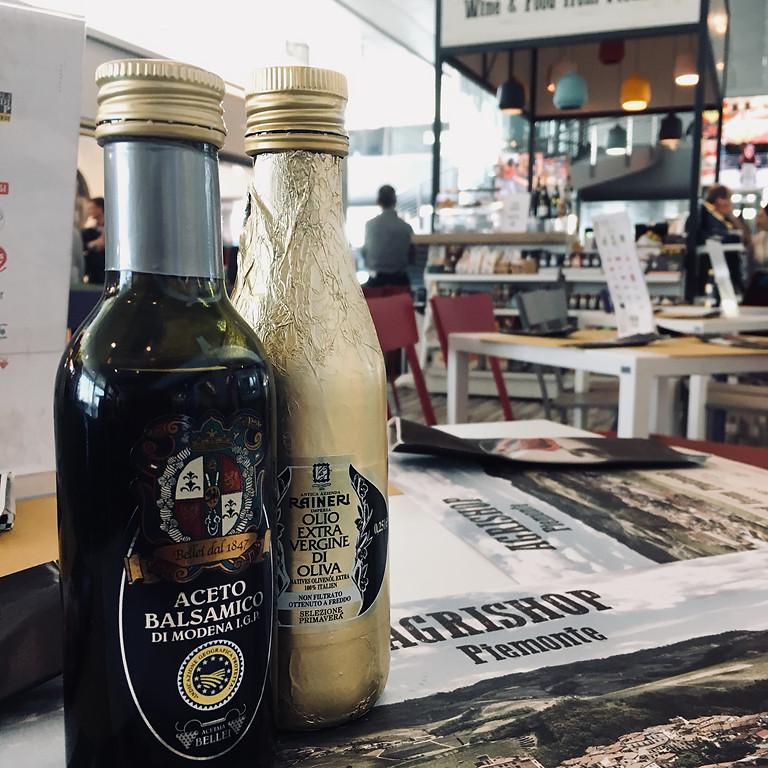 Free TASTING DAY: oil and vinegar