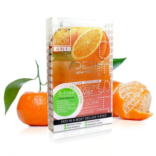 VOESH Pedi in a Box 4 Step Tangerine Twist