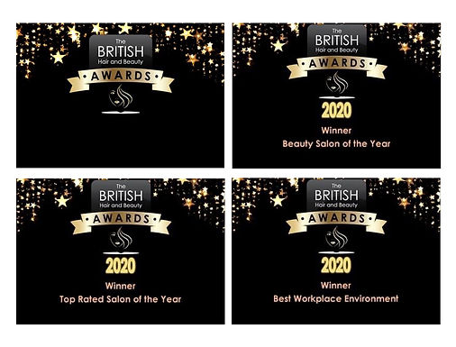 Bliss Beauty Keyworth 2020 Awards